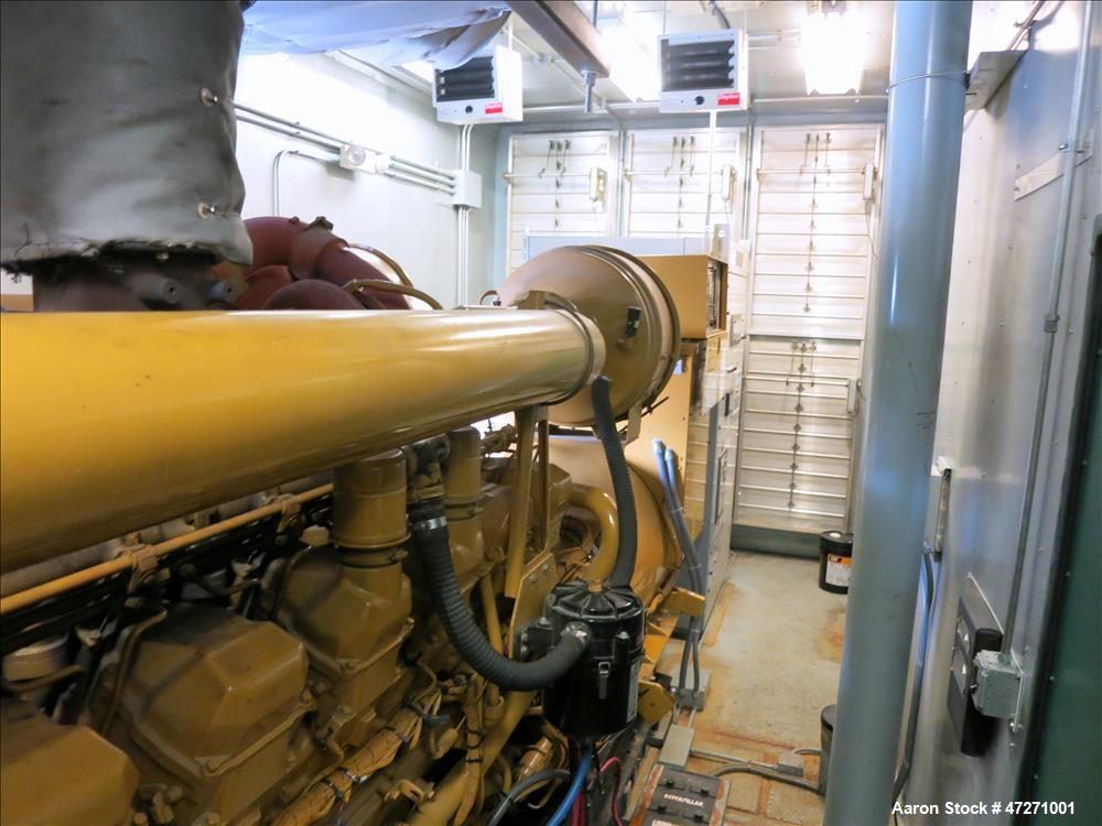 Used-Caterpillar 2000 kW diesel generator set. CAT 3516B engine.