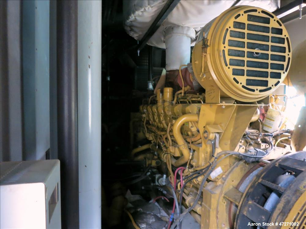 Used-Caterpillar 2000 kW diesel generator set. CAT 3516B