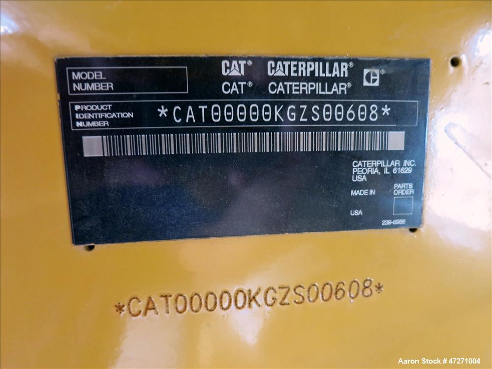 Used-Caterpillar 2000 kW standby diesel generator set. CAT 3516B engine