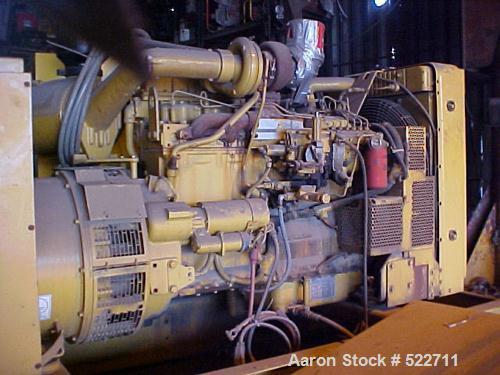 USED: Cat 205 kW prime rating diesel generator set. 3/60/480V.Caterpillar 3306 engine. Model SR-4B generator end arrangement...