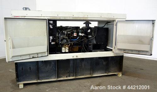 Used- Coleman/Perkins 105 kW standby diesel generator set, model PM5105E42D, SN-8217. 3/60/277/480V. 200 Amp main-line circu...