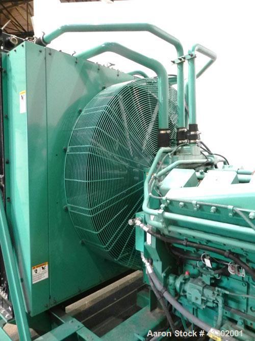 Unused- Cummins 1500 kW standby (1250 kW prime) Diesel Generator Set, model DFLE-5774913, serial #L060002970. Cummins KTA 50...