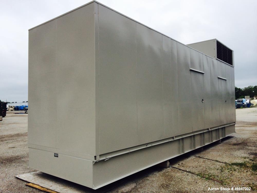 Used- Cummins 1500 kW standby (1250kW prime) diesel generator set.