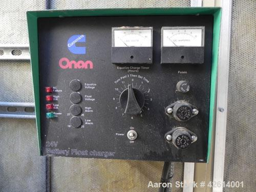 Used- Cummins / Onan 1500 kW standby diesel generator set. Cummins model 1500 DFLE SN-I000146270. Cummins model KTA50-G9 eng...