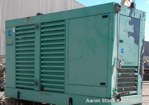 Used- Cummins / Onan 150 kW Standby, (135 kW prime) Diesel Generator Set. Cummins model 150DGFA, serial #I960616129. Cummins...
