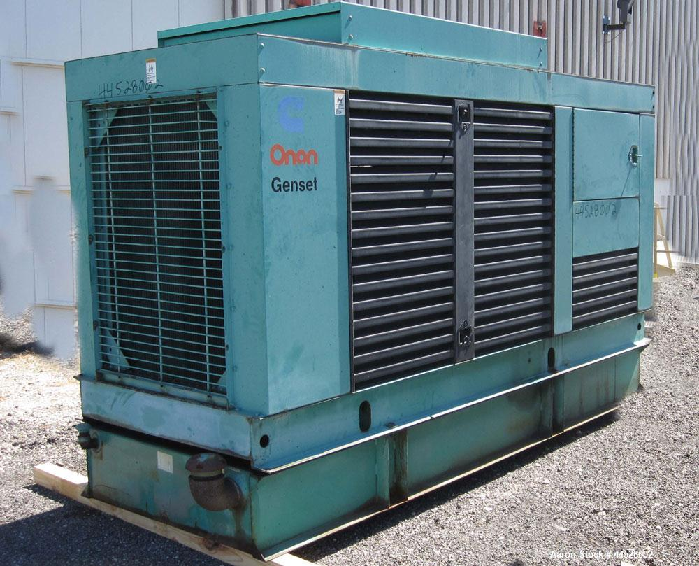 Used- Cummins 230 kW standby (210 kW prime) diesel generator set, model 230DFAB, SN-J920490544. Cummins LTA10-G1 engine rate...