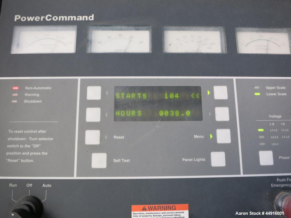 Used- Cummins 230 kW Standby (210 Prime) Diesel Generator Set, Model 230DFAB, Serial #970664650.  Cummins LTA10-G1 engine ra...