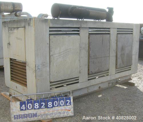 Used- Cummins 250 KW diesel generator set. Cummins model NT-855-GS3 engine, serial #A890196313. Cummins model 249-0152-02 ge...