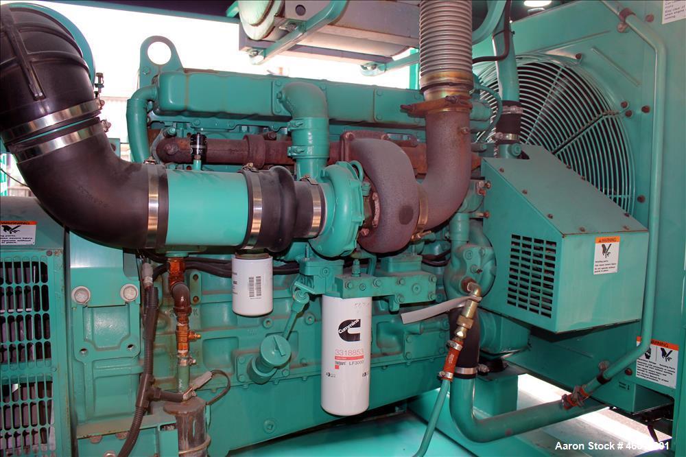 Used-Cummins 250 kW diesel generator , model 250 DFAC. Cummins model LTA10-G1