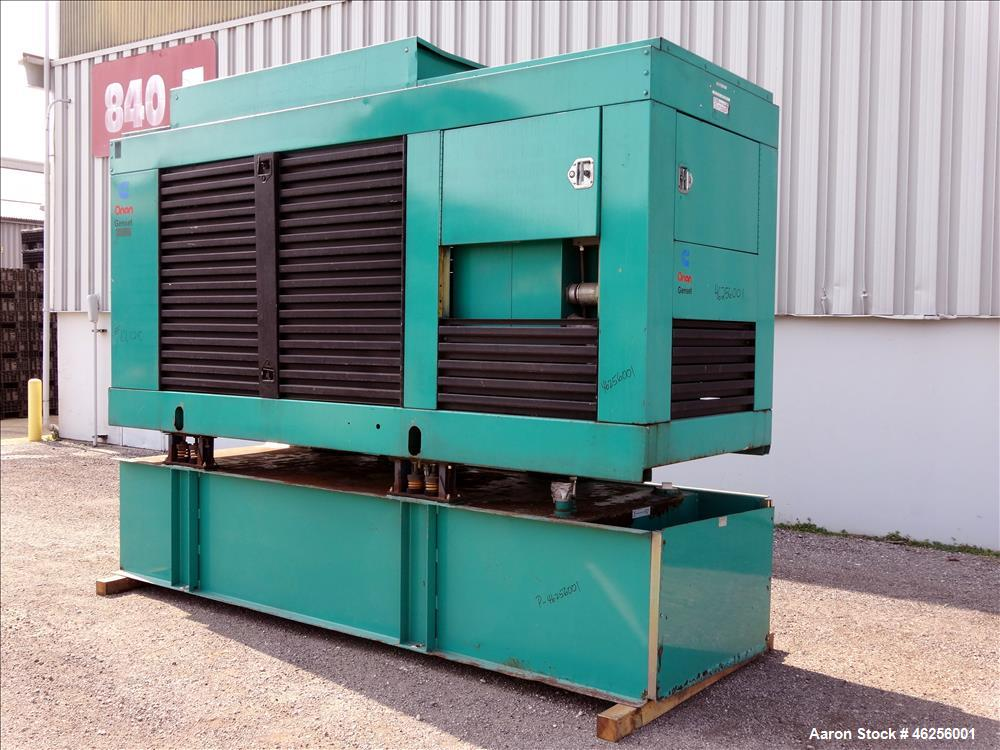 Used- Cummins 300 kW standby (270 kW prime) diesel generator set, model 300DFCB, SN-F910400725. Cummins NTA-855-G2 engine ra...