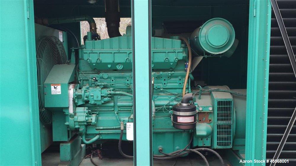 Used- Cummins 350 kW Portable / Trailered Diesel Generator Set, Model 350DFCC, Serial #H910413853. Cummins NTA855-G3 engine ...