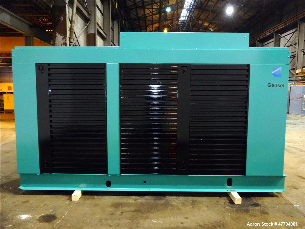 Used-Cummins 400 kW diesel generator, model 400DFEB. Cummins KTA19-G2 engine