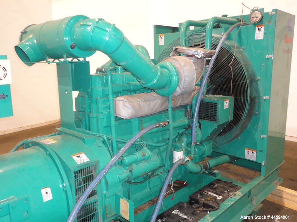 Used- Cummins 450 kW Standby Diesel Generator Set, Model 450DFEC