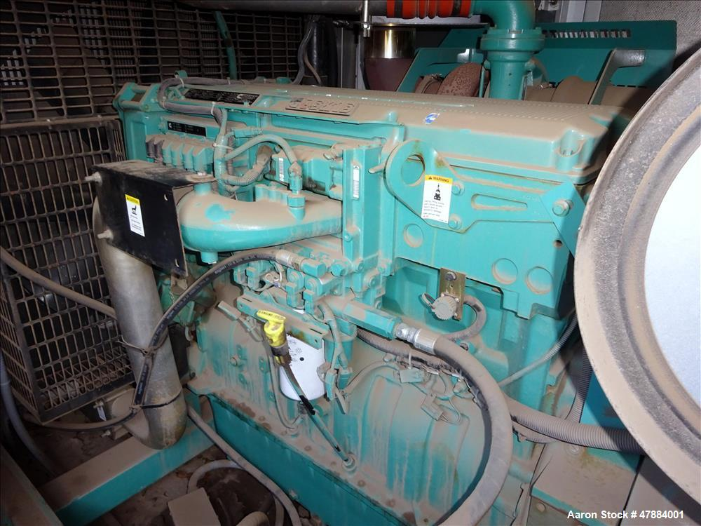 Cummins 500 kW diesel generator. Cummins QSK15-G9 engine, EPA Tier 2
