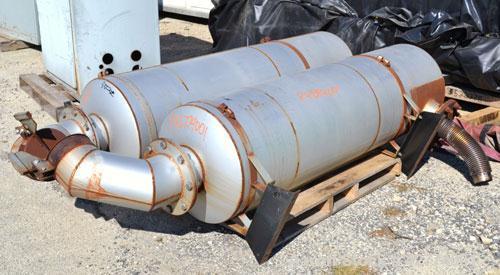 Used- Cummins 500kW Natural Gas Generator Set. Cummins model 500GFGA, serial #EM05A070760. Cummins GTA28 engine serial #2529...