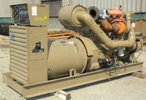 Used- Cummins 350kW diesel generator Set. Model 502FDR7020JJW, Cummins NTTA855GS2 engine, SN-30127412, 535HP @ 1800 RPM. 3/6...