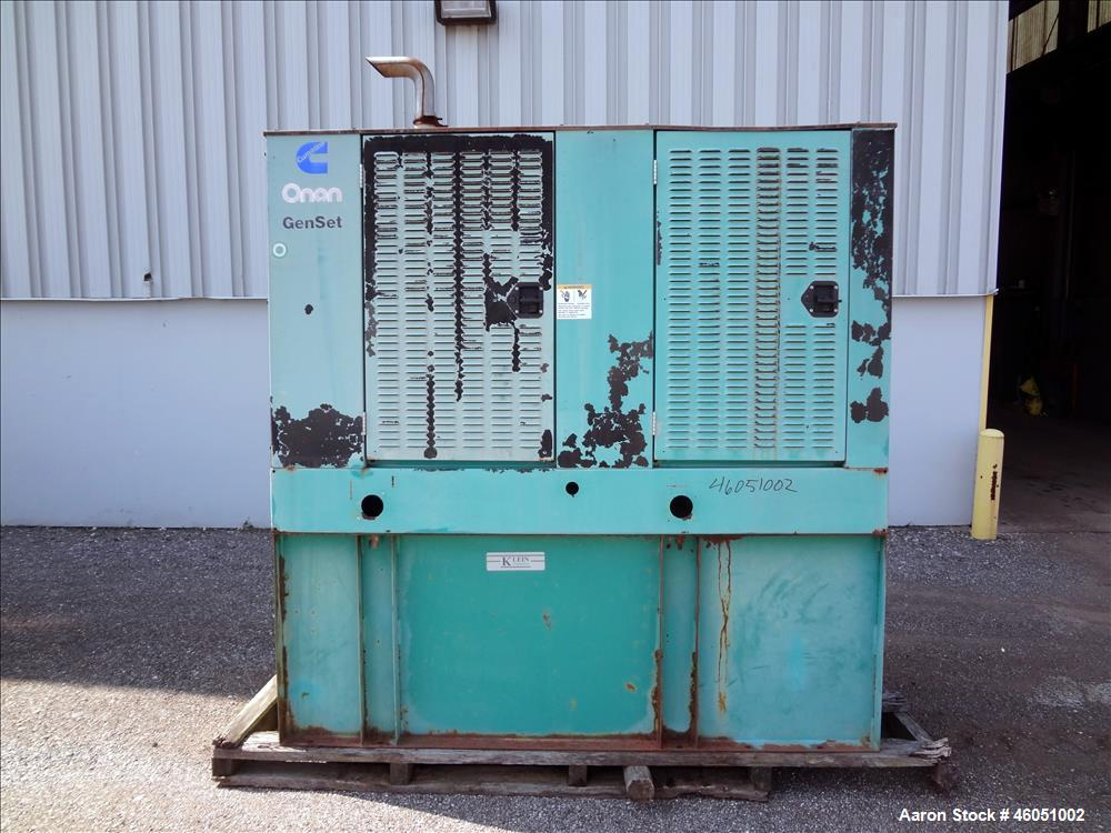 Used- Cummins 50 kW standby (45 kW prime) diesel generator set, model 50DGCA, SN-C970633354. Cummins 4BT3.9-G1 engine rated ...