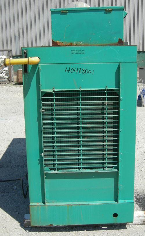 Used Cummins / Onan 60 kW natural gas generator set model 60EN L36837E, SN-E900318912. Ford model LSG-8751-6005-A, SN-03717 ...
