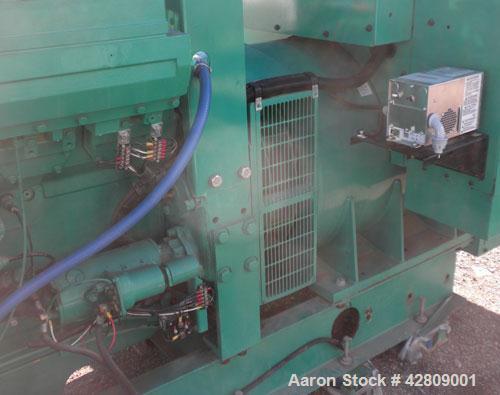 Used- Cummins 750 kW standby (680 kW prime) diesel generator set. Cummins model 750DFHA-1386, SN-J000166135. Cummins QST30-G...
