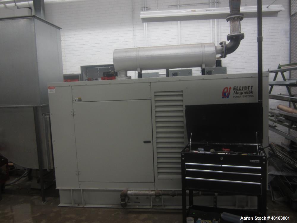 Used-Cummins 150 RN Natural Gas Generator. Cummins engine model GTA8.302 serial number 45868508. piston 3930016 ratio 10.5  ...