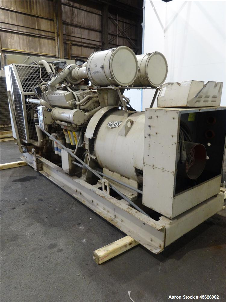 Used- Cummins 500 kW standby diesel generator set, model CWI-680FDR.
