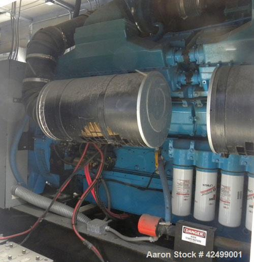 Used- Cummins/Katolight 2000kW standby / 1820 prime diesel generator set. Cummins model QSK60-G6 engine rated 2922 hp @ 1800...