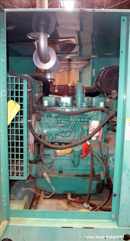 Used- Cummins 60kW standby (55kW prime) diesel generator set, model DGCB-4957237 SN-C010222503. Cummins 4TB3.9-G4 rated 102 ...