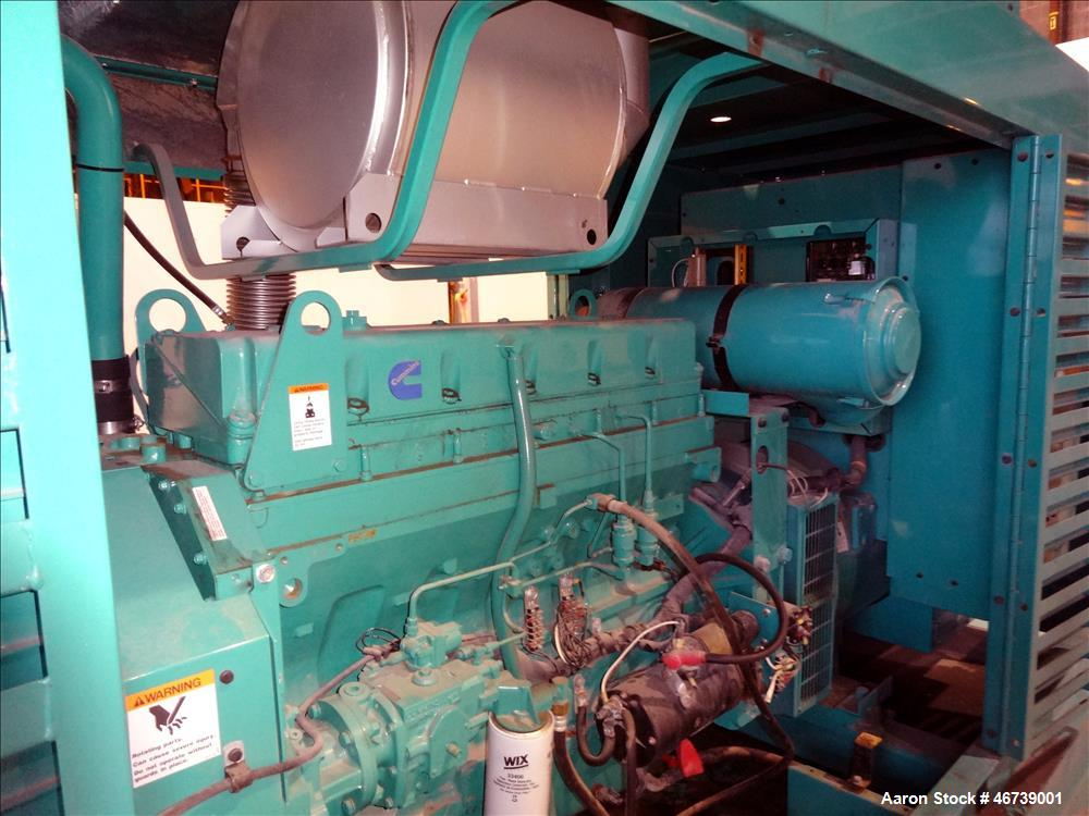 Used- Cummins 250 kW standby diesel generator set, model DFAC - 4960583, SN-F010