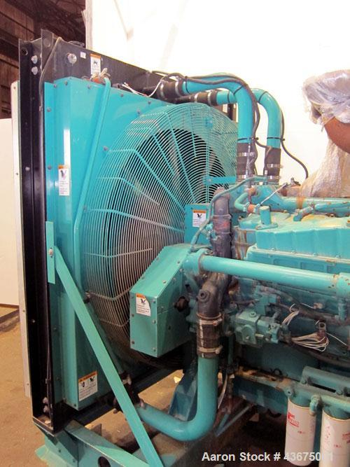 Used- Cummins 600 kW Standby Diesel Generator Set, Cummins Model VTA28-G5