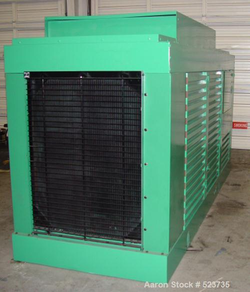 USED: Cummins/Onan 300 kW diesel generator set, model DFCB300. Enginemodel NTA-855-G2. Reconditioned as follows: New block h...