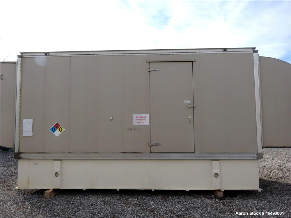 Used- Cummins 500kW diesel generator model DFED. Cummins KTA19-G4 engine