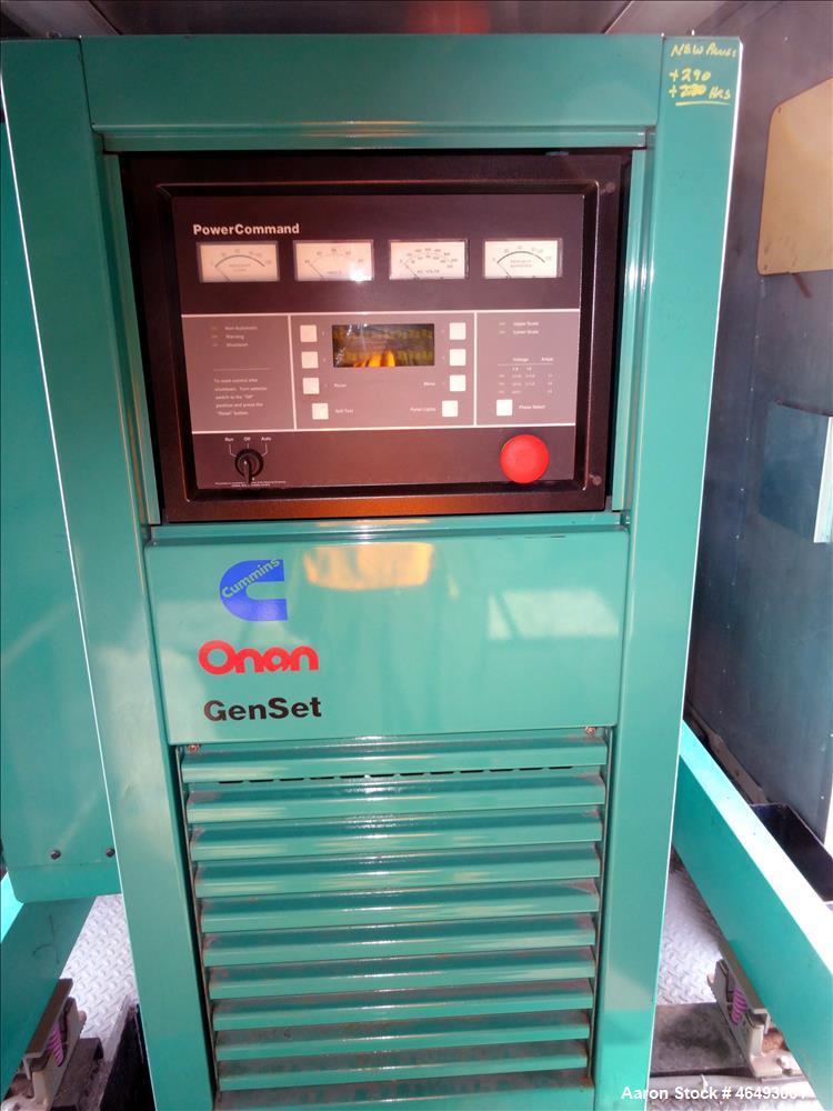 Used- Cummins 500kW diesel generator model DFED. Cummins KTA19-G4 engine