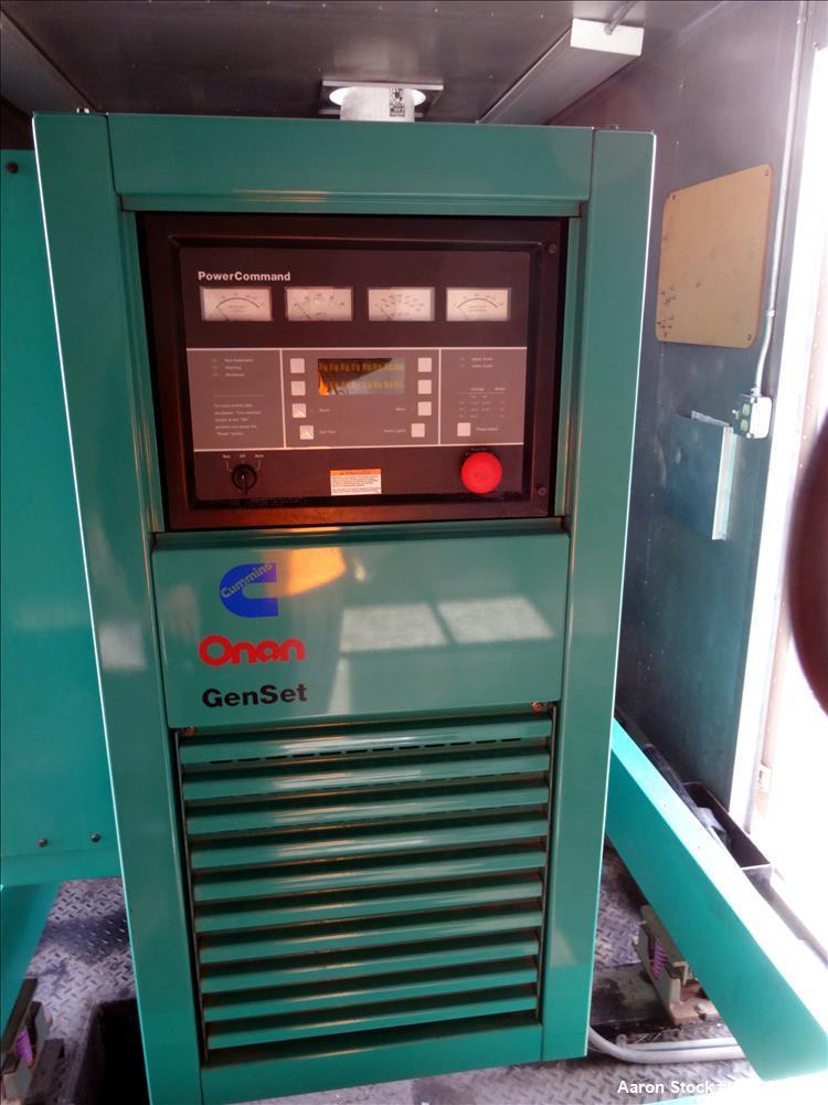 Used- Cummins 500 kW diesel generator model DFED. Cummins KTA19-G4 engine