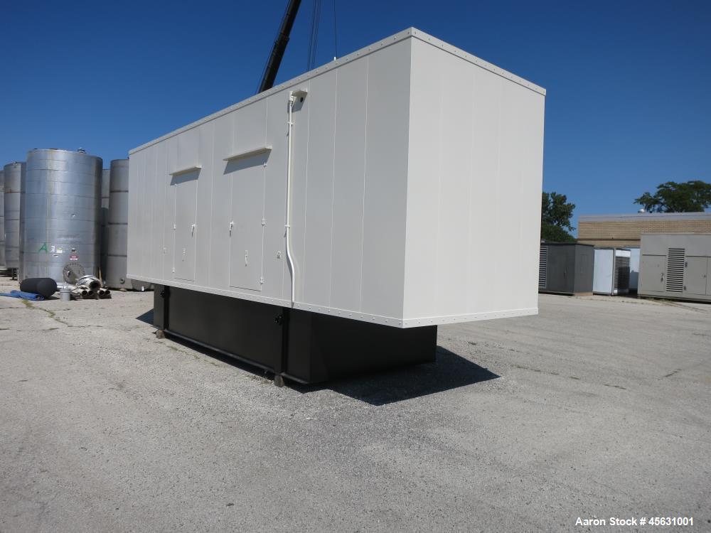 Used- Cummins 500kW standby (455 kW prime) diesel generator set, model DFED-4486