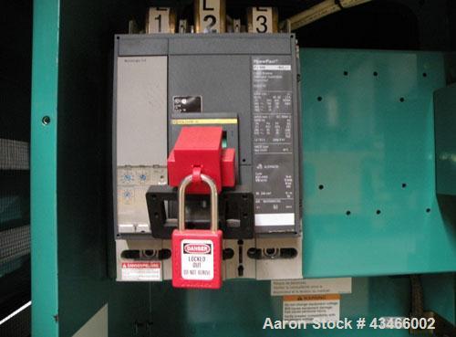 Used- Cummins 500 kW standby (455kW prime) diesel generator set, model DFEK-5773752 SN- J060985454. Cummins QSX-15-G9 rated ...