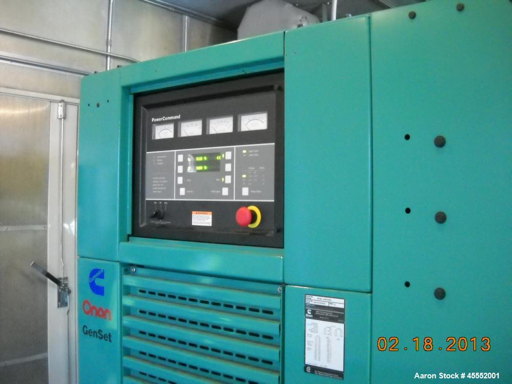 Used- Cummins 600 kW Standby Diesel Generator Set