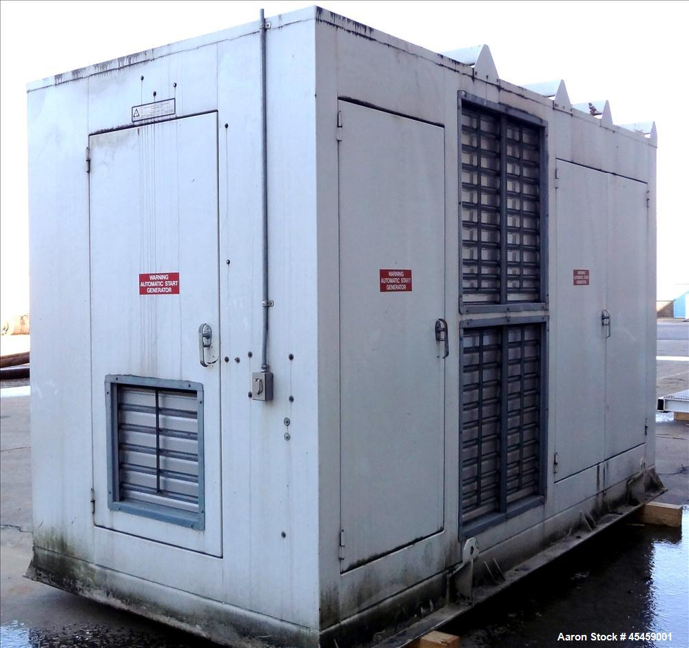 Used- Cummins 750 kW Standby Diesel Generator Set, Model DFHA-3389752