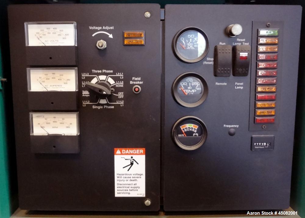 Used- Cummins 100 kW Standby (90 kW Prime) Diesel Generator Set, Model DGDB-4965256, Serial #H010276770. Cummins 6BT5.9-G6 e...