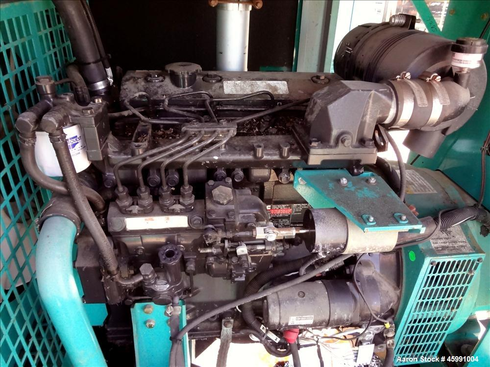 Used- Cummins 35 kW standby (30 kW prime) diesel generator set, model DGGD-5769016, SN-G060944329. Cummins 4B3.3-G1 engine r...