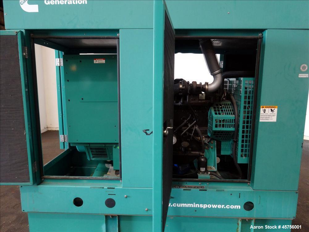 Used- Cummins 35 kW standby (30 kW prime) diesel generator set