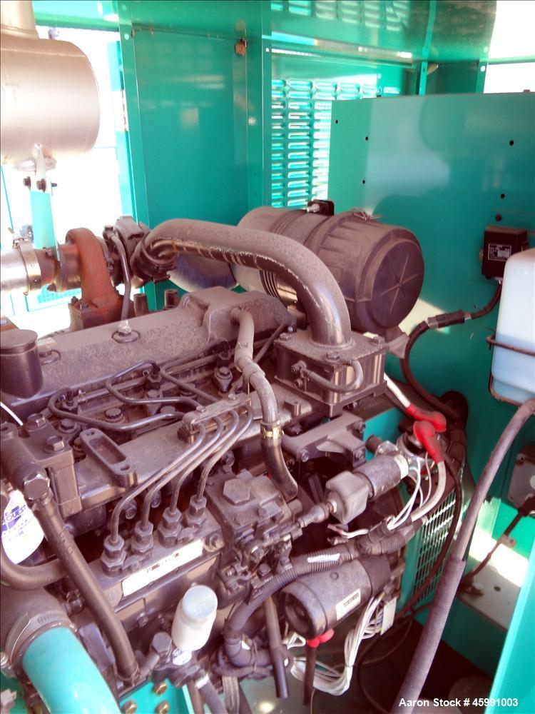 Used -Cummins 35 kW standby (30 kW prime) diesel generator set, model DGGD-5937235, SN-J070119501, Cummins 4B3.3-G6 engine r...