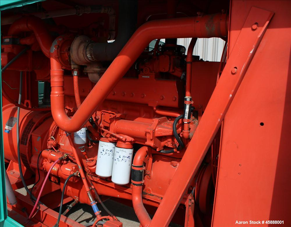 Used-Cummins 215 kW standby (180 continuous). GTA855 engine