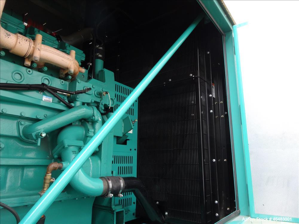 Used- Cummins 750 kW Diesel Generator Model DQCB. Cummins QSK23-G7 Engine.
