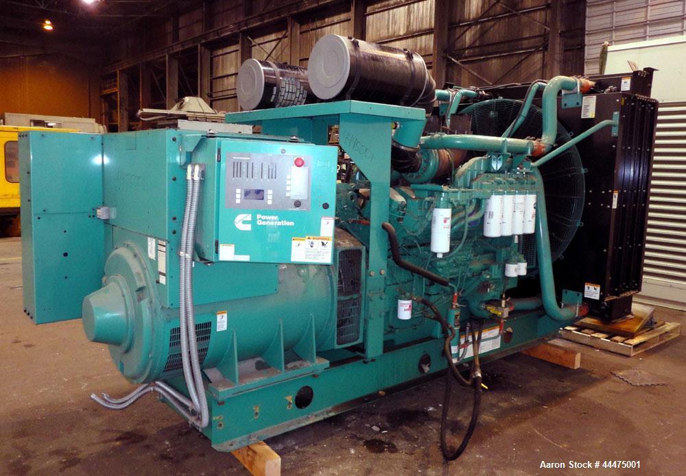 Used- Cummins 750kW Standby Diesel Generator Set, Model DQFAA-5769920
