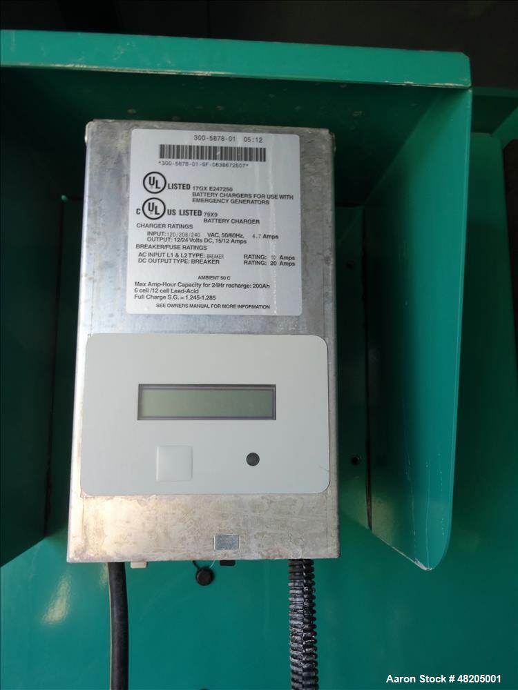 Used- Cummins 300 kW Diesel Generator. Cummins QSM11-G4 Engine EPA Tier 3 Emissi