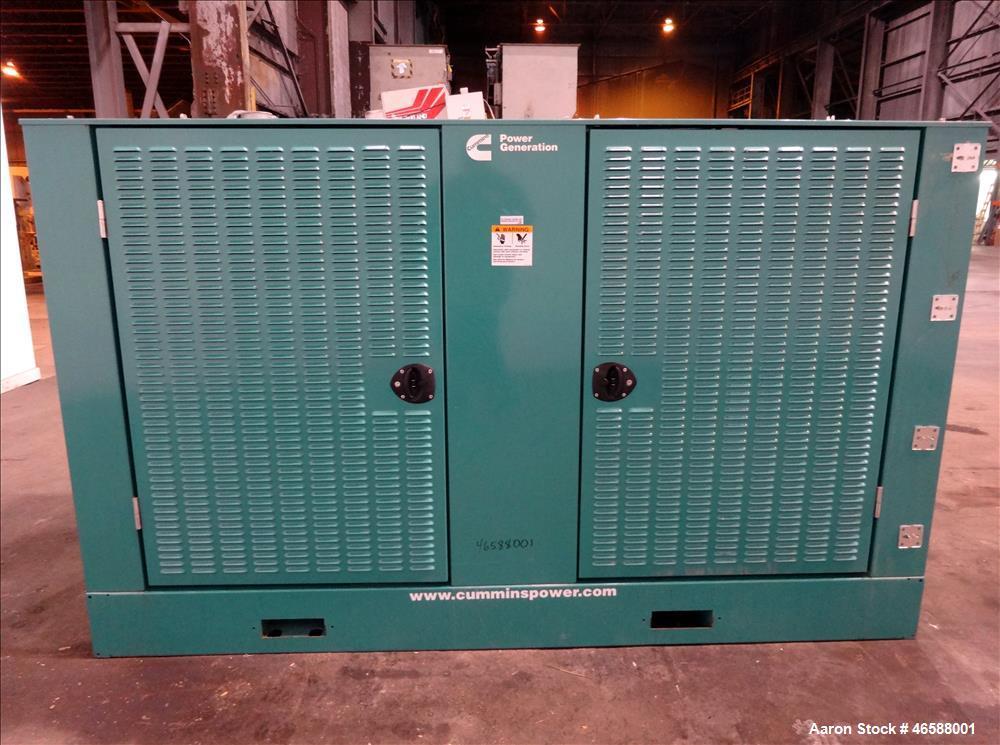 Used- Cummins 200 kW diesel generator model DSGAE. Cummins QSB7-G5 NR3 engine.