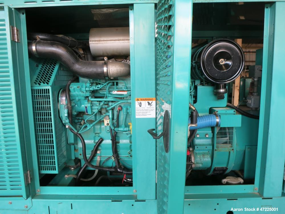 Used-Cummins 150 kW, model DSHAA. Cummins QSL9-G0 engine, EPA Tier 3.