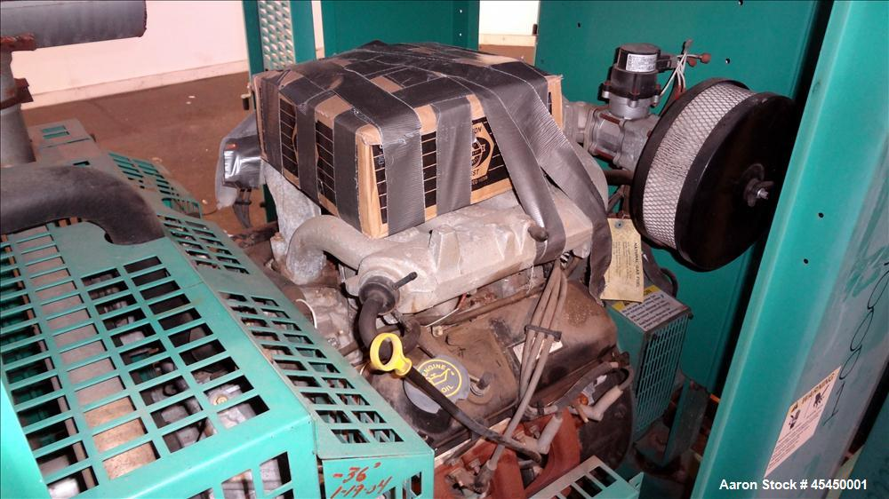 Used-Cummins 42 kW Standby Natural Gas Generator Set, Model GGFE-5583726