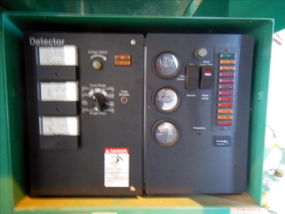 Used- Cummins 35 kW Standby Natural Gas Generator Set, Model GGFD-5006605
