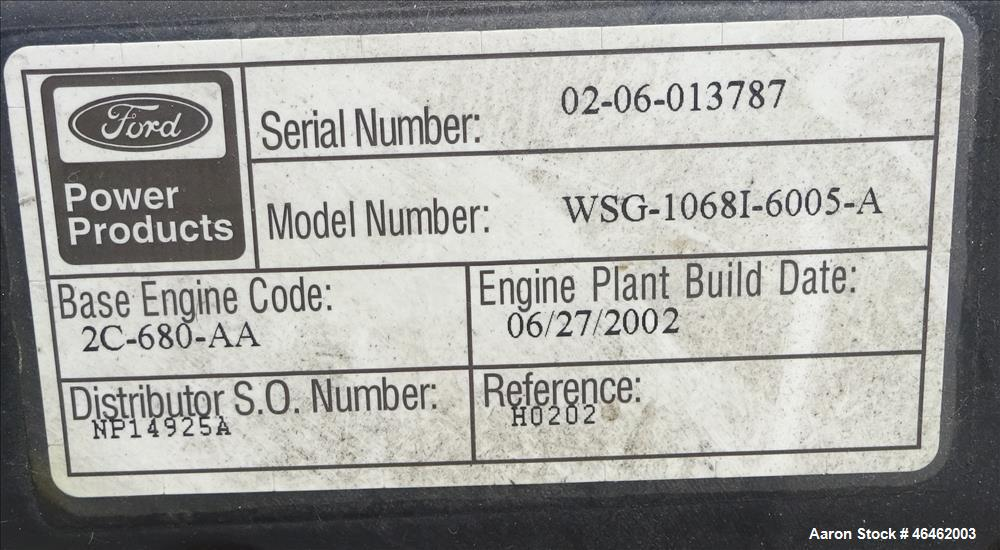 Used- Cummins 100 kW standby natural gas generator set, model GGHH-5565115